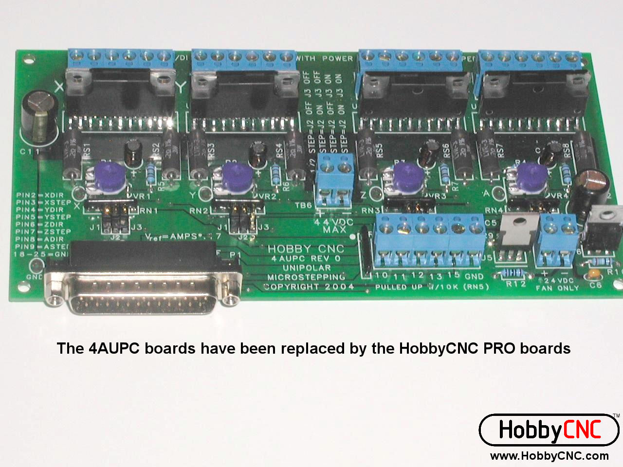 4AUPC Board